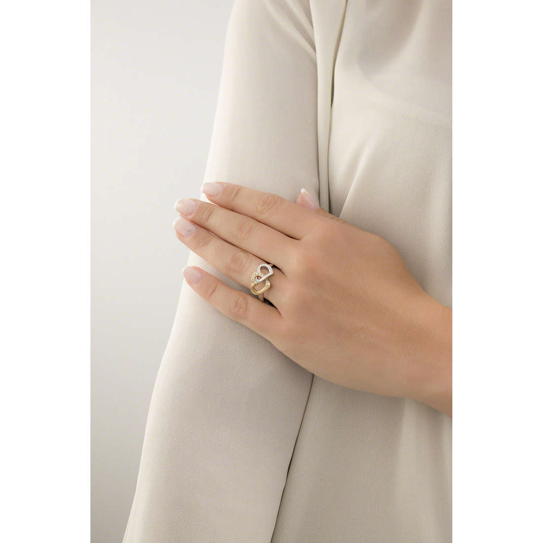 Sector rings Family & Love woman SACN24016 indosso