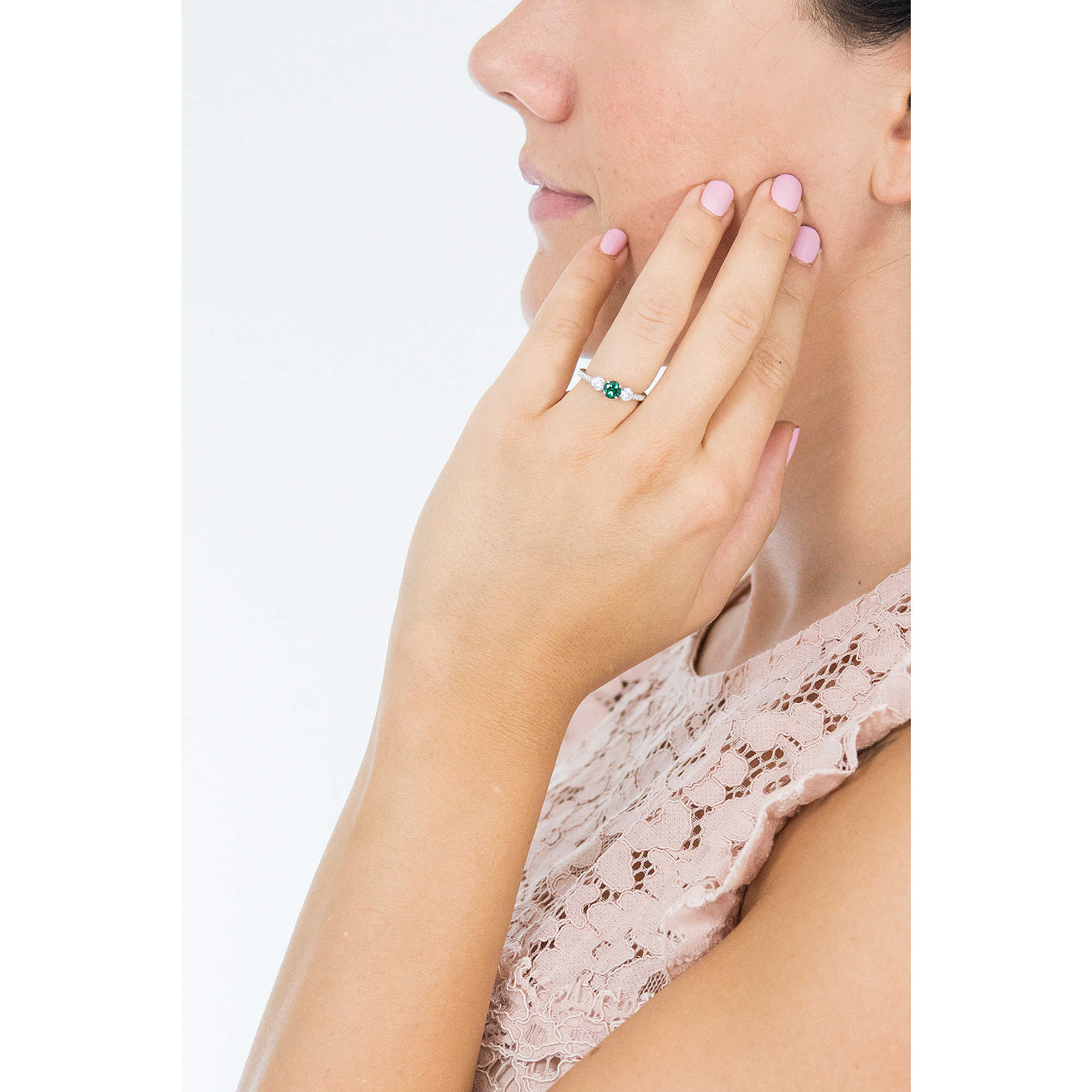 ring woman jewellery Swarovski Attract Trilogy 5448893 rings Swarovski 39967c48df