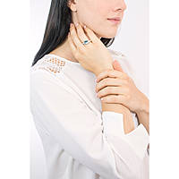 ring woman jewellery Ti Sento Milano Collaborazione 12057WB/58