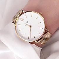 Uhr nur Zeit frau Cluse Minuit CL30013