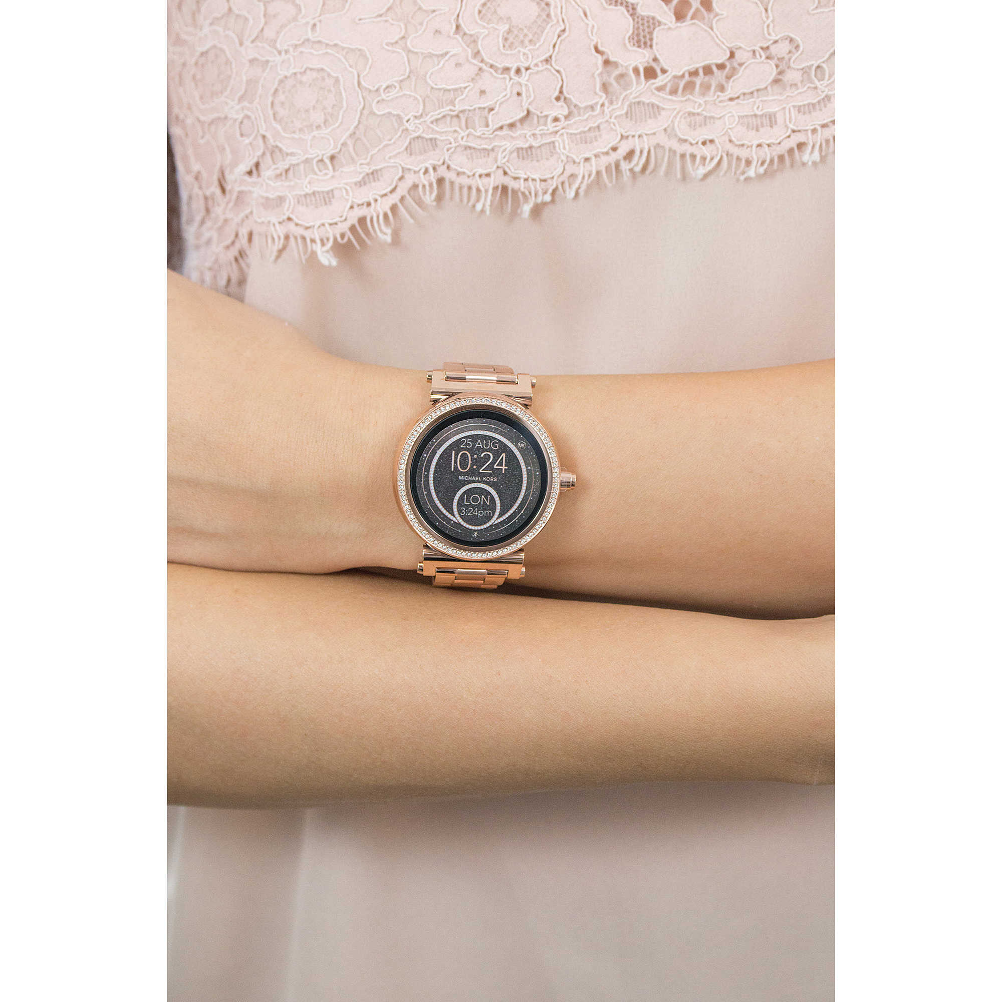 Uhr Smartwatch Frau Michael Kors Sofie Mkt5022 Smartwatches Michael Kors