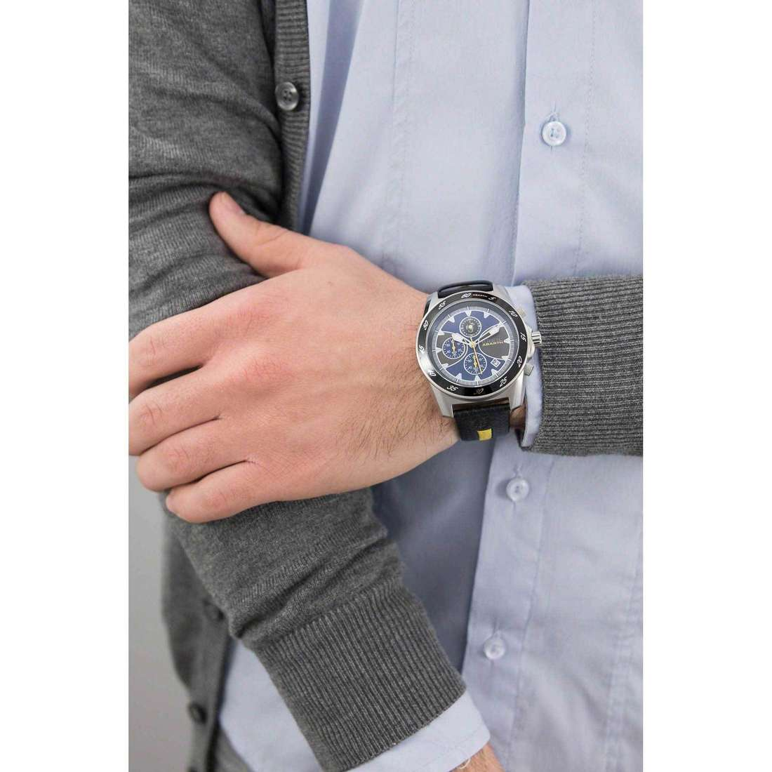 Breil chronographs Abarth man TW1246 indosso