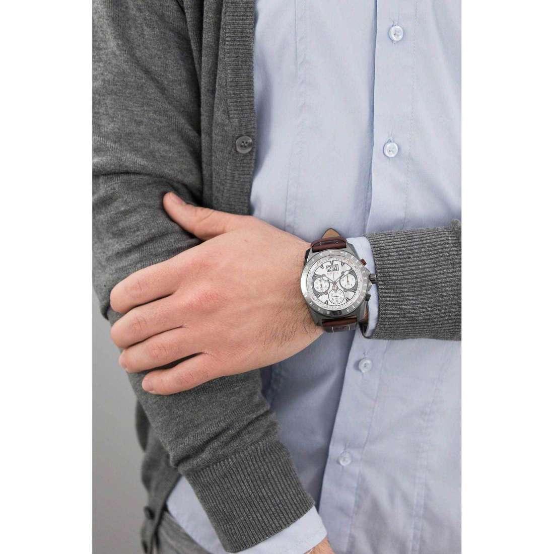 Breil chronographs Abarth man TW1364 indosso