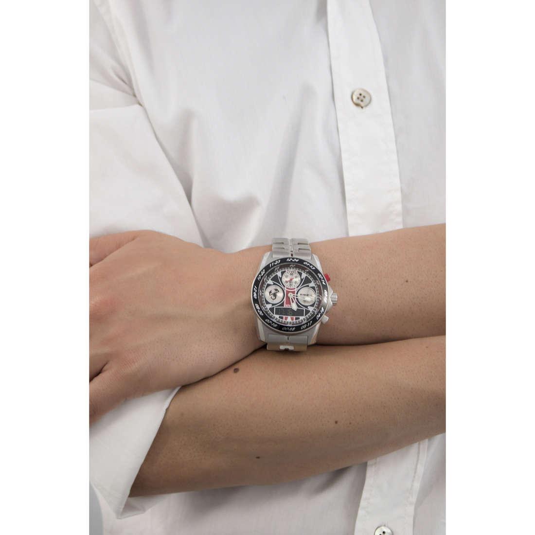 Breil chronographs Abarth man TW1365 indosso
