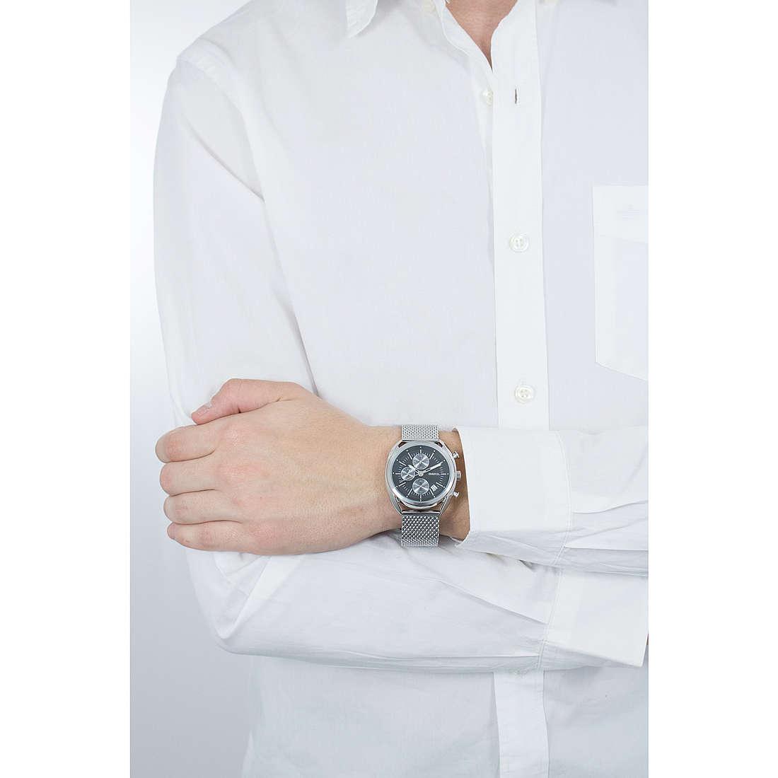 Breil chronographs Beaubourg Extension man TW1513 photo wearing