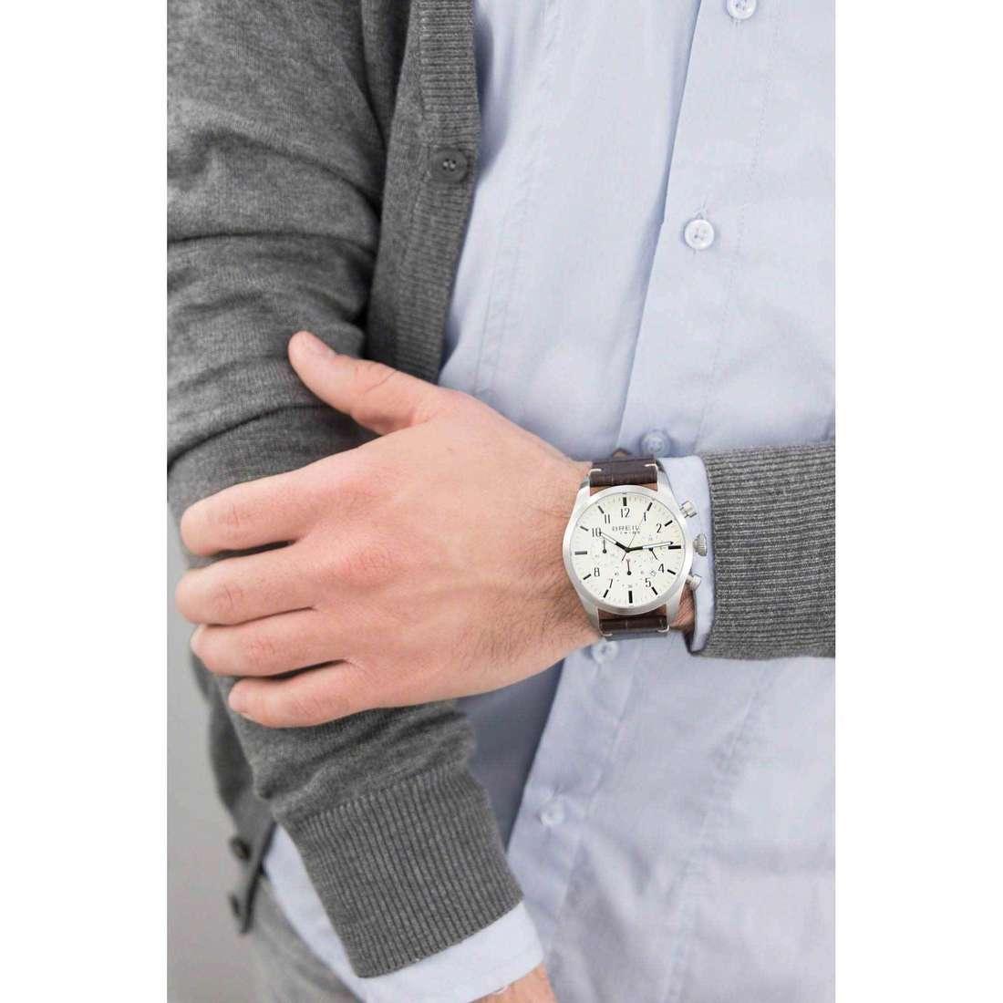 Breil chronographs Classic Elegance man EW0196 indosso