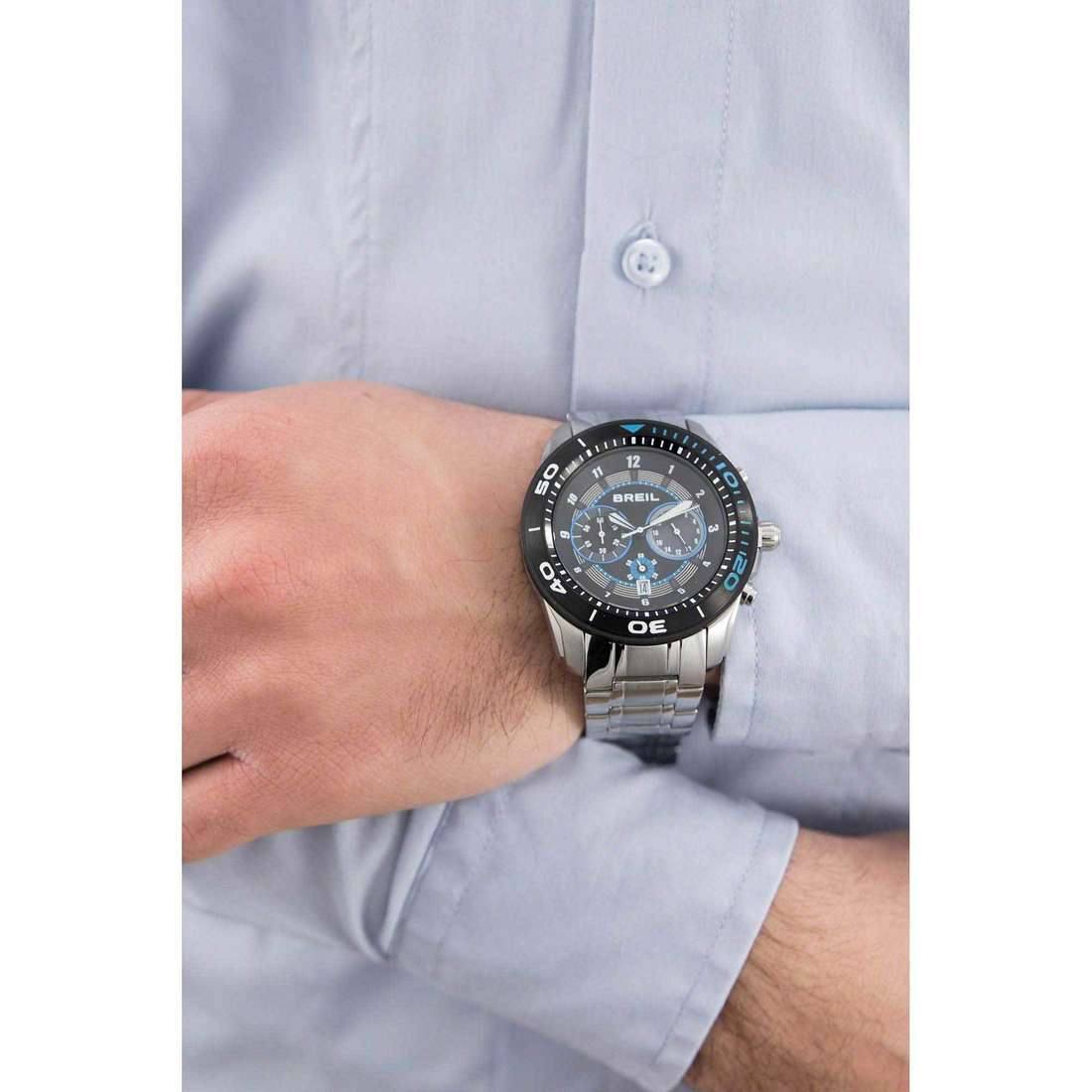 Breil chronographs Edge man TW1287 indosso