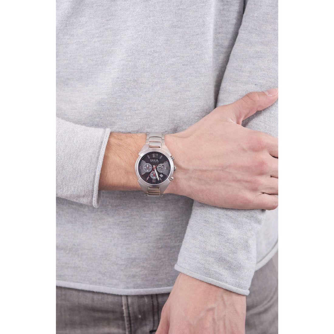 Breil chronographs Gap man TW1275 indosso