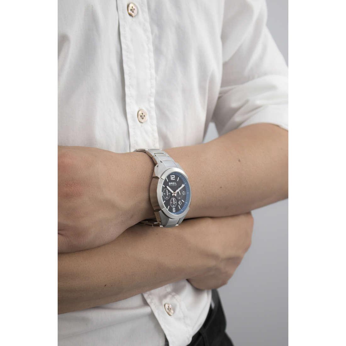 Breil chronographs Gap man TW1379 indosso