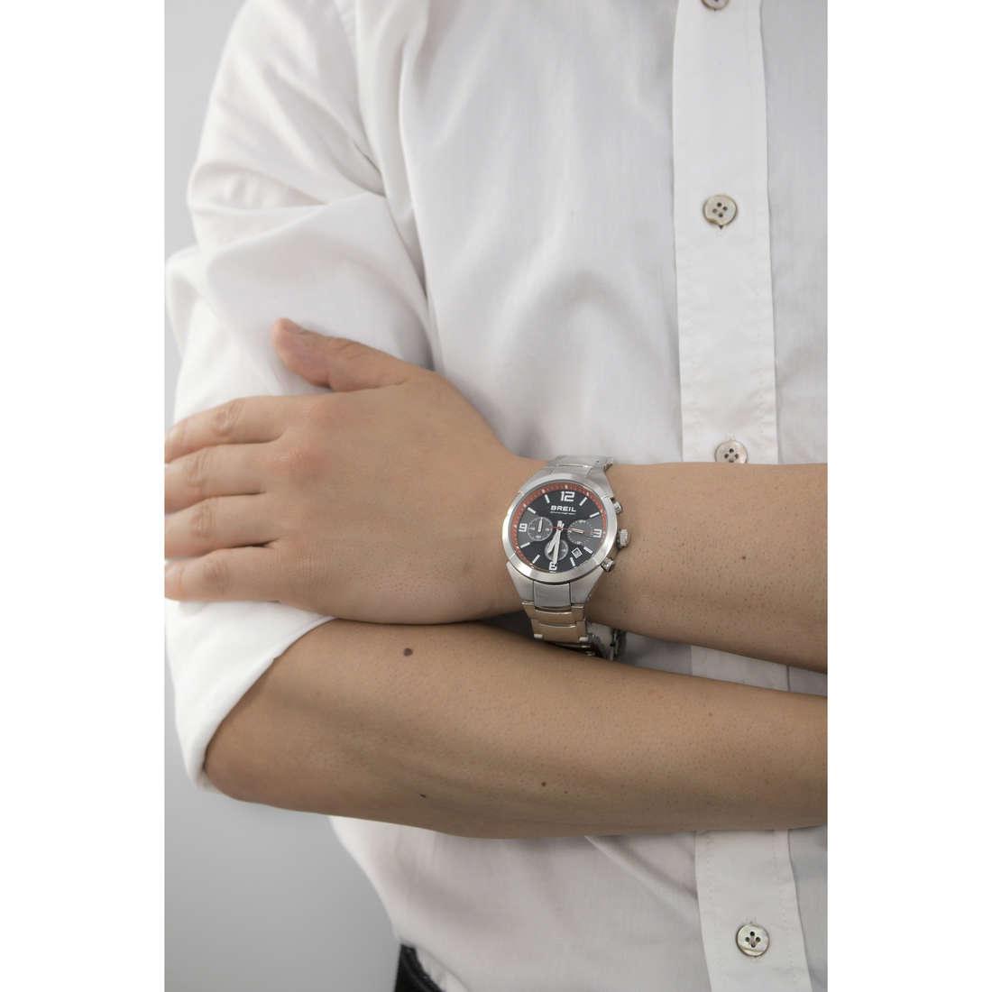 Breil chronographs Gap man TW1381 indosso
