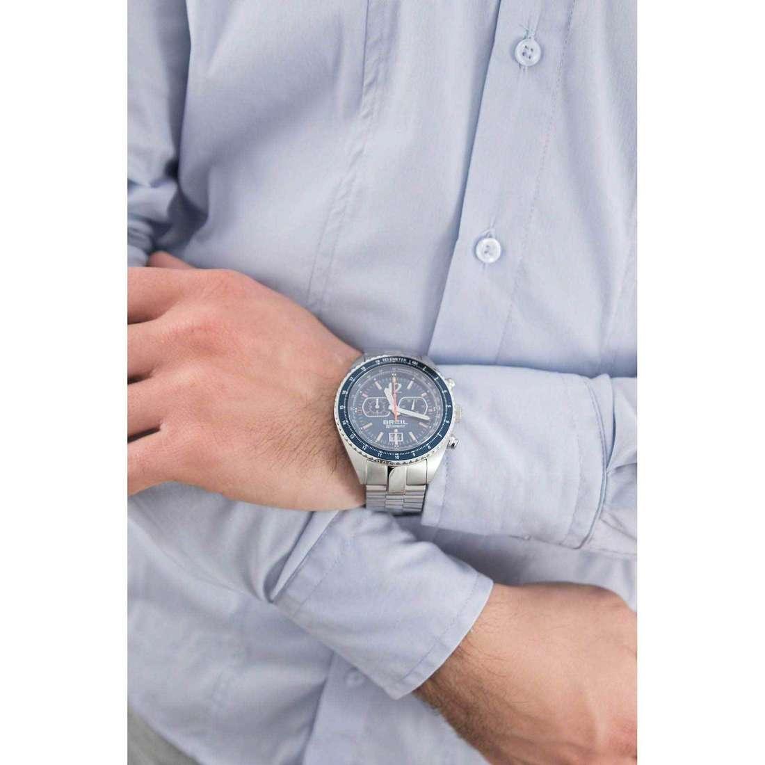 Breil chronographs Midway man TW1449 indosso