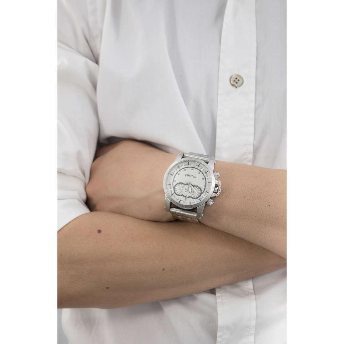 Breil chronographs Aviator man TW1142 indosso