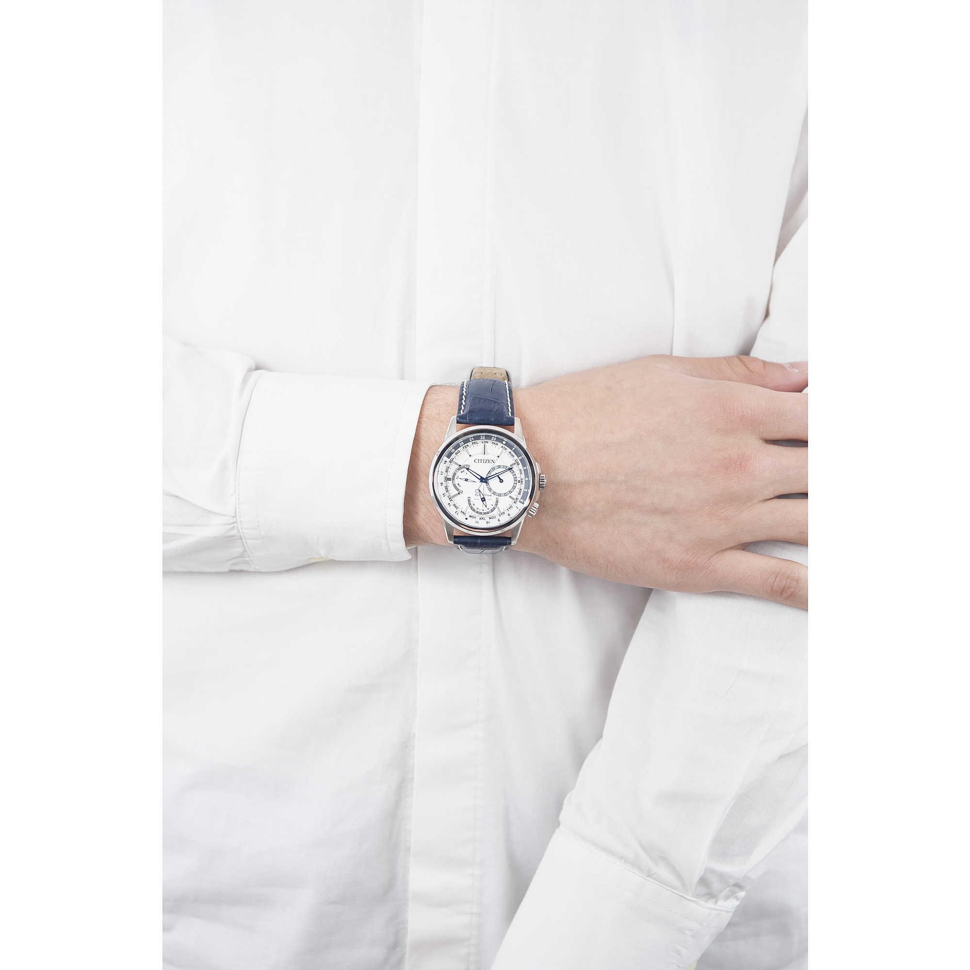Watch Chronograph Man Citizen Calendrier Bu2020 11a Chronographs Ca4285 50h Zoom