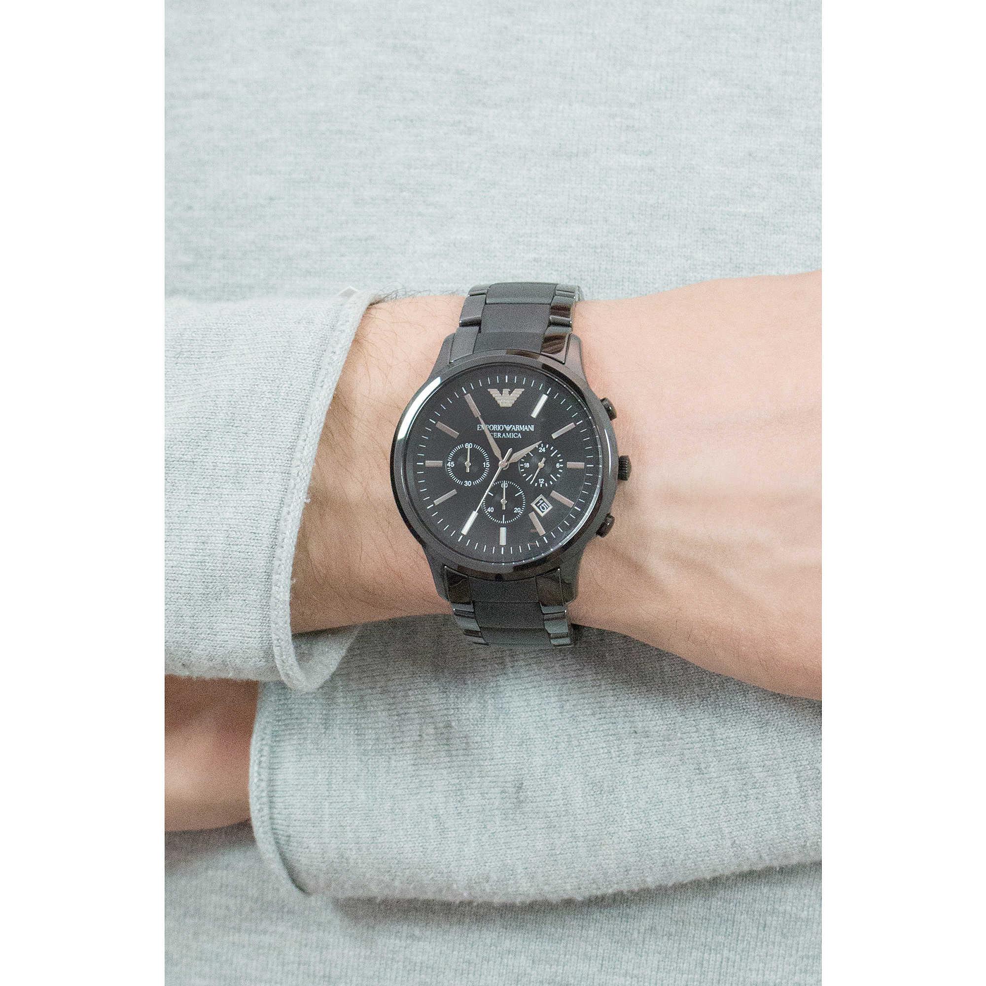hot new products huge sale good quality watch chronograph man Emporio Armani AR1451 chronographs ...
