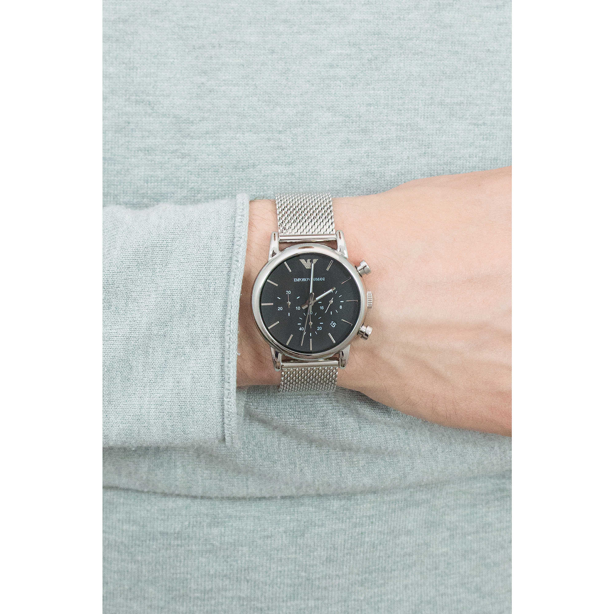 d6dcd045cff watch chronograph man Emporio Armani AR1811 chronographs Emporio Armani