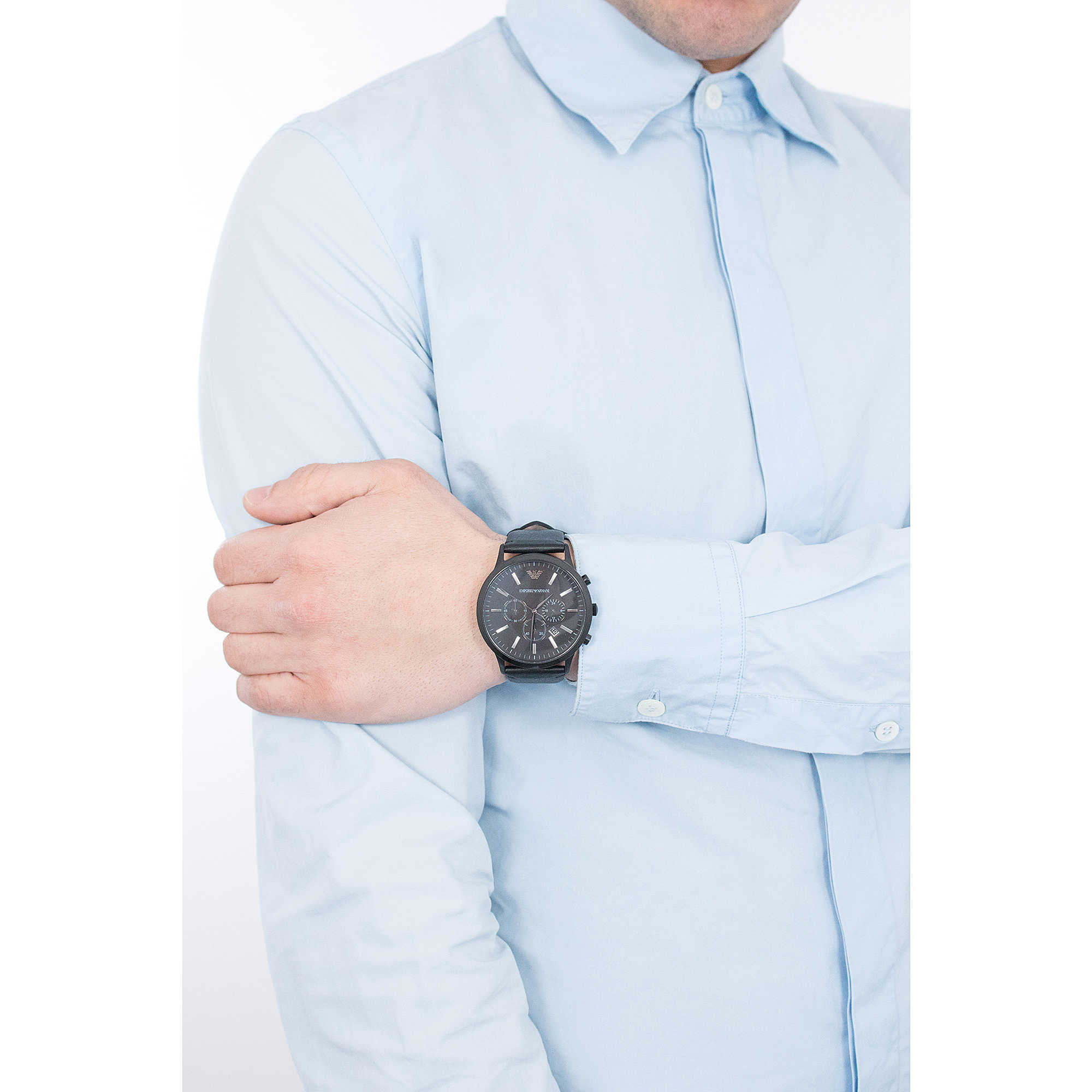 19b42c6bf watch chronograph man Emporio Armani AR2461 chronographs Emporio Armani