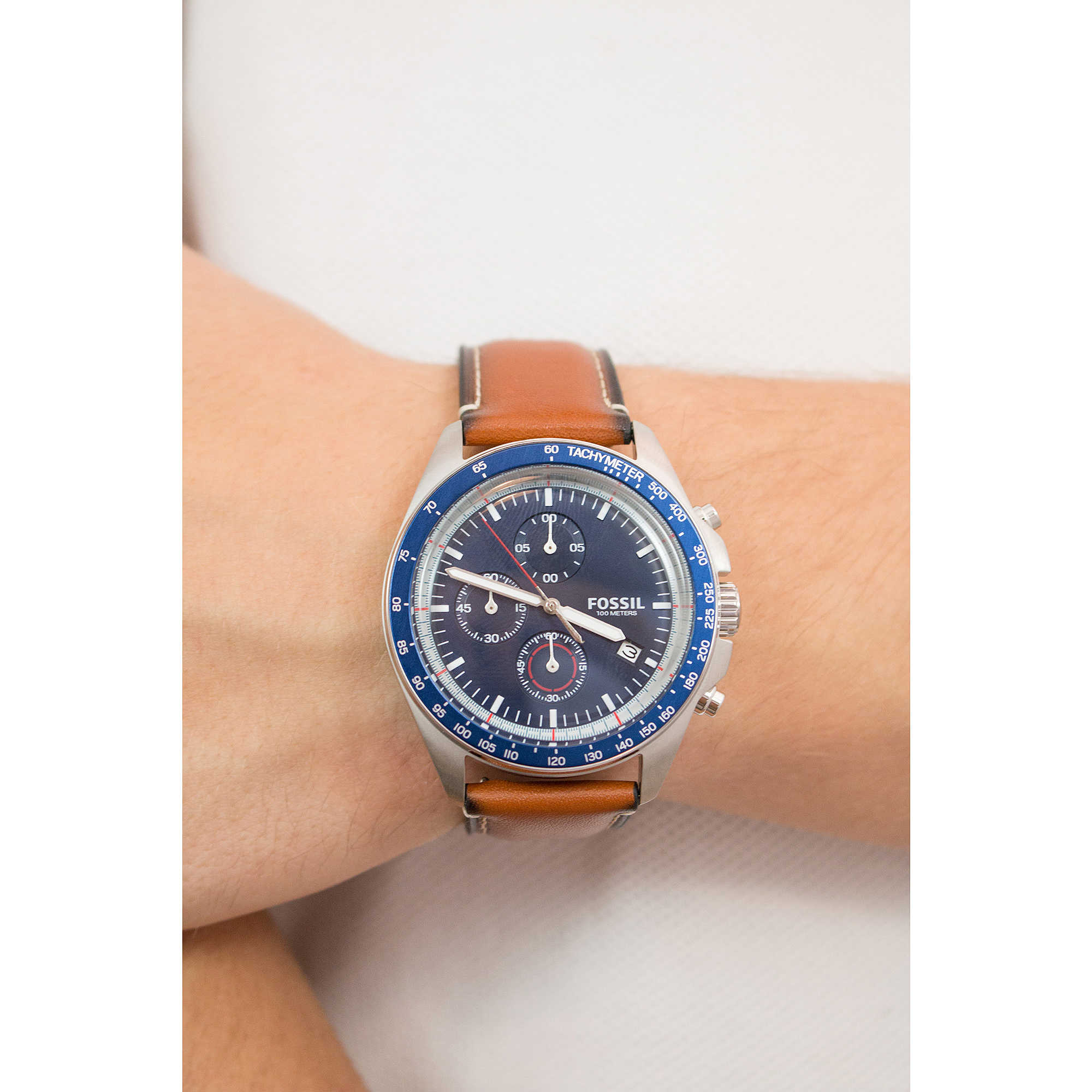 77a78741413 watch chronograph man Fossil Sport 54 CH3039 chronographs Fossil
