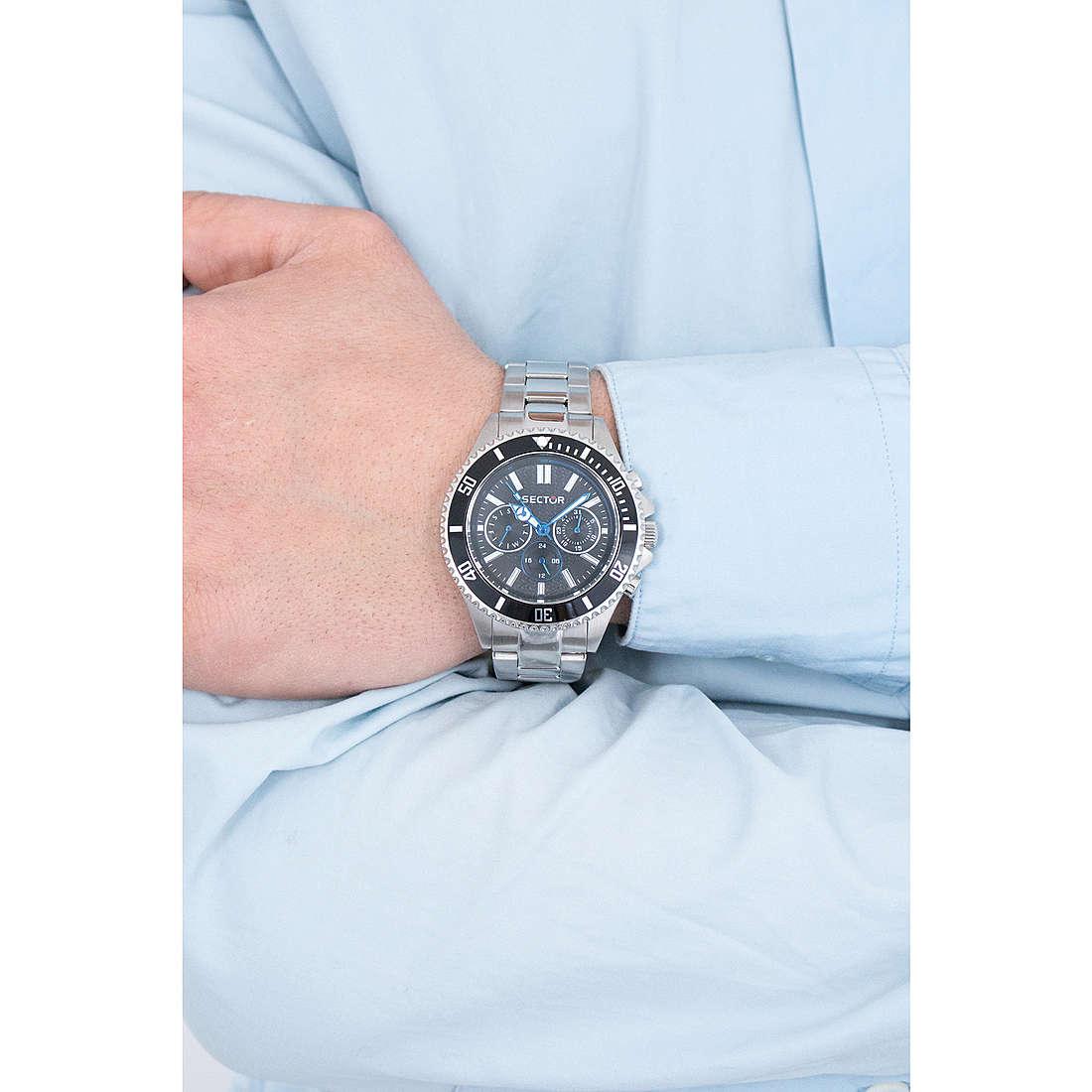 Sector chronographs 235 man R3253161007 photo wearing