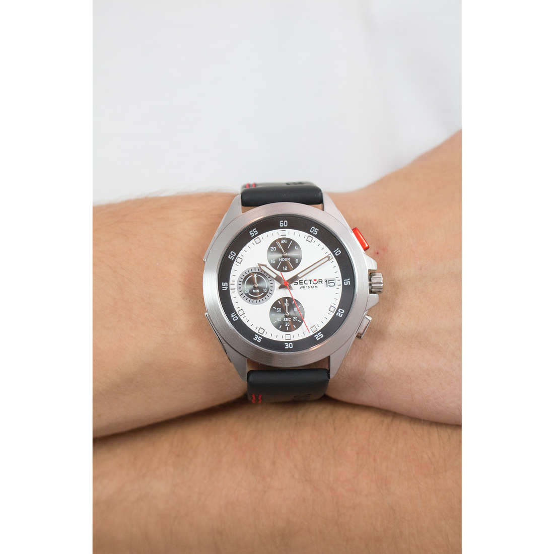 Sector chronographs man R3271687003 photo wearing