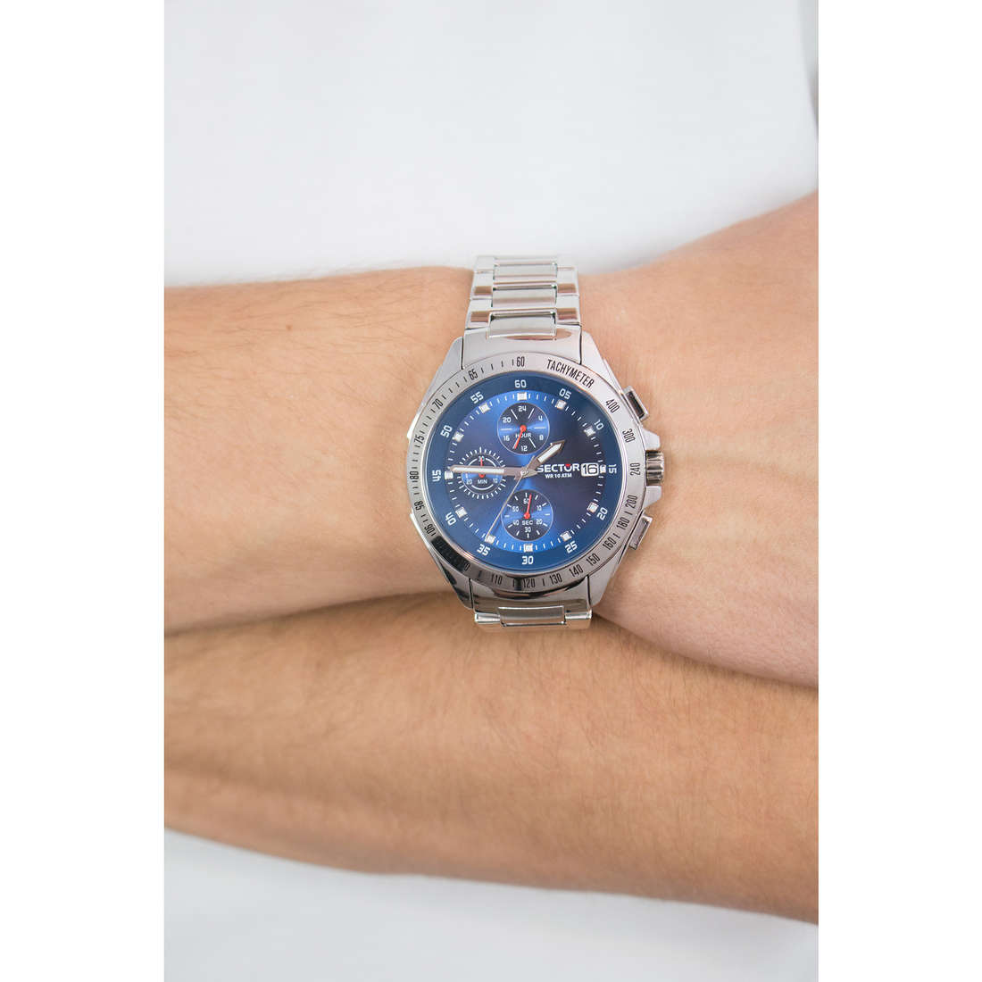 Sector chronographs man R3273687002 photo wearing