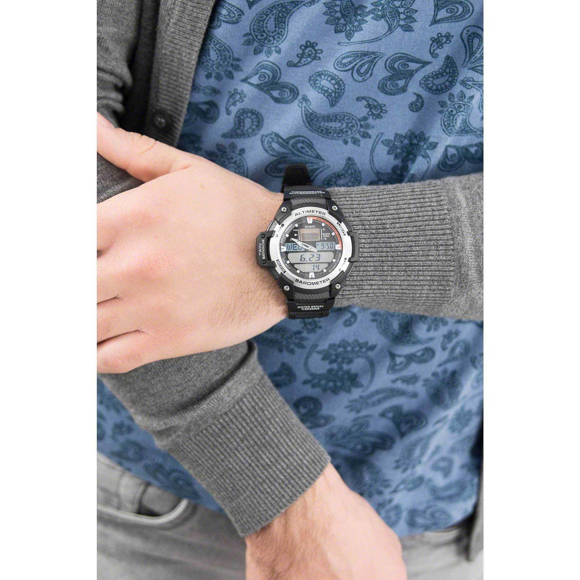 watch digital man Casio CASIO COLLECTION SGW-400H-1BVER digitals Casio 0bf0419fa80