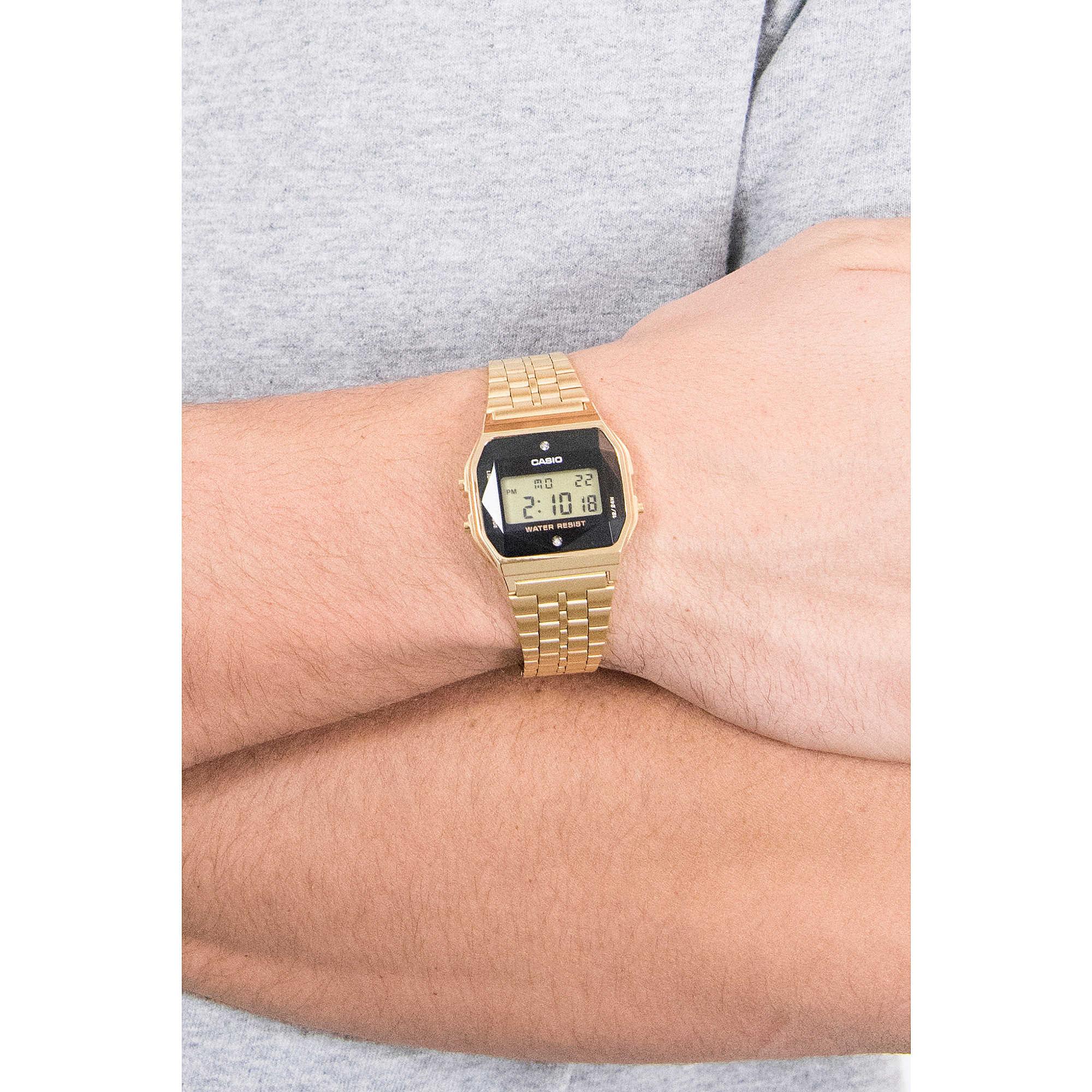 60ddd6276c147 watch digital man Casio Retro A159WGED-1EF digitals Casio