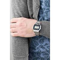 watch digital unisex Casio CASIO COLLECTION A164WA-1VES