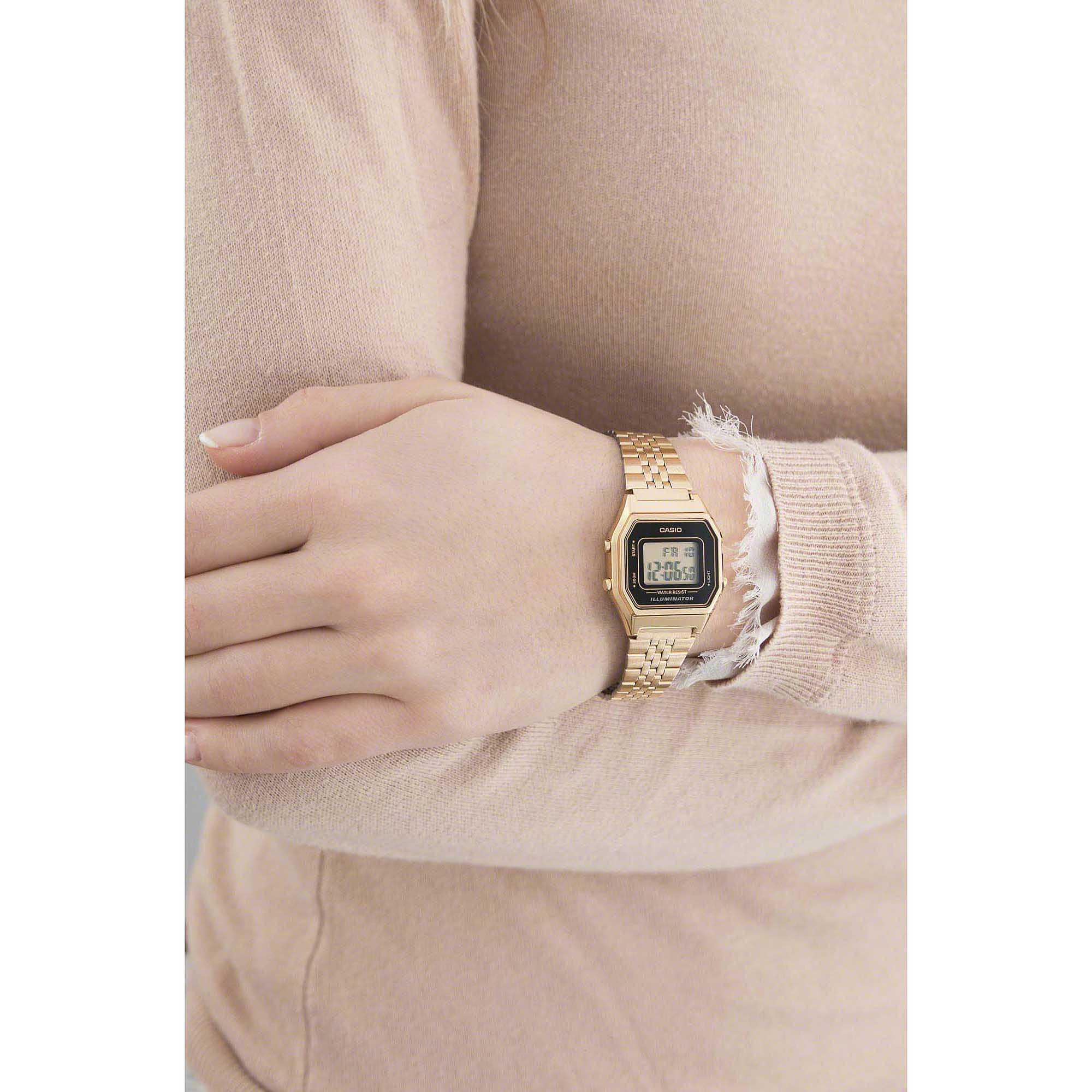 watch digital unisex Casio CASIO COLLECTION LA680WEGA 1ER