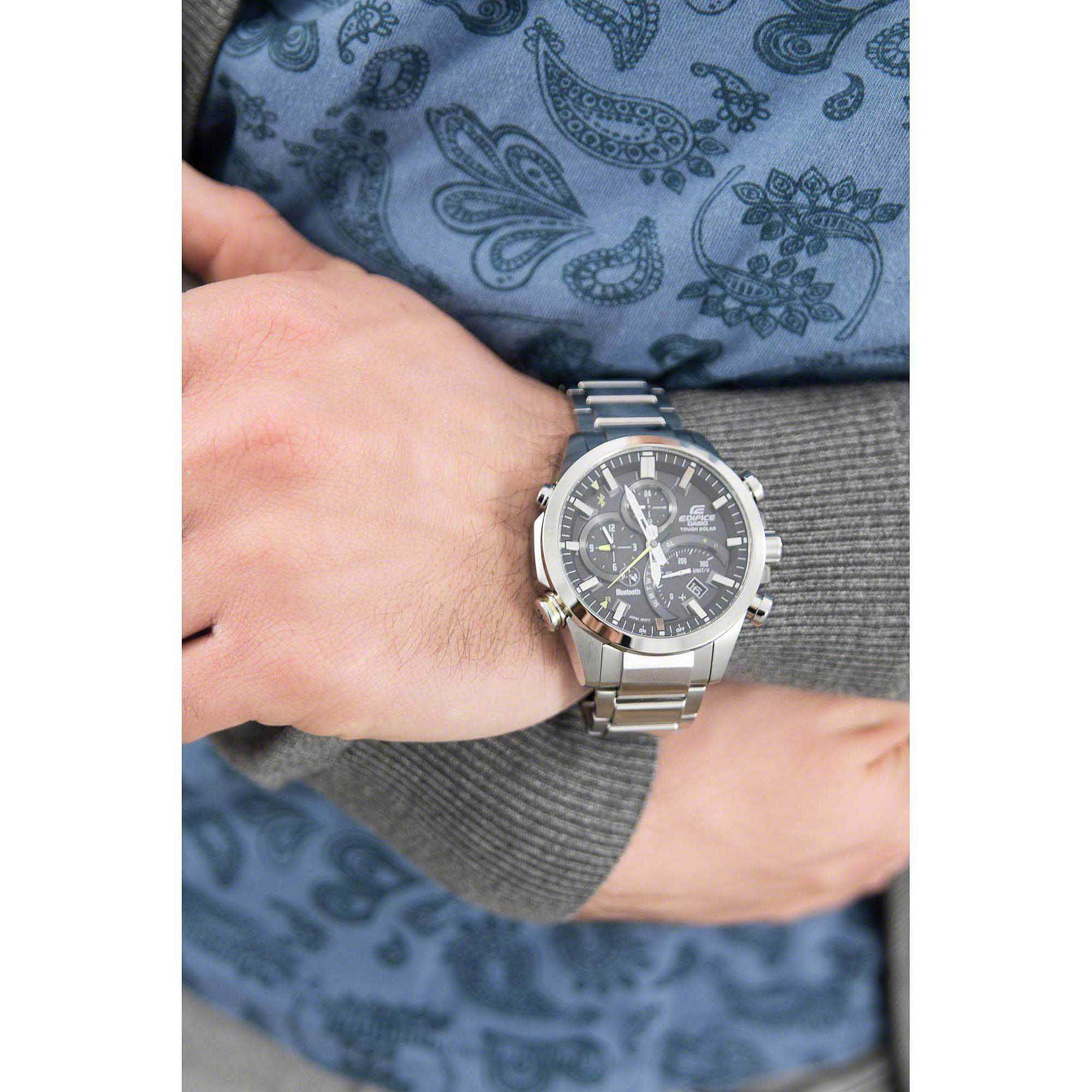watch multifunction man Casio Edifice EQB-501D-1AER multifunction Casio bedce253561