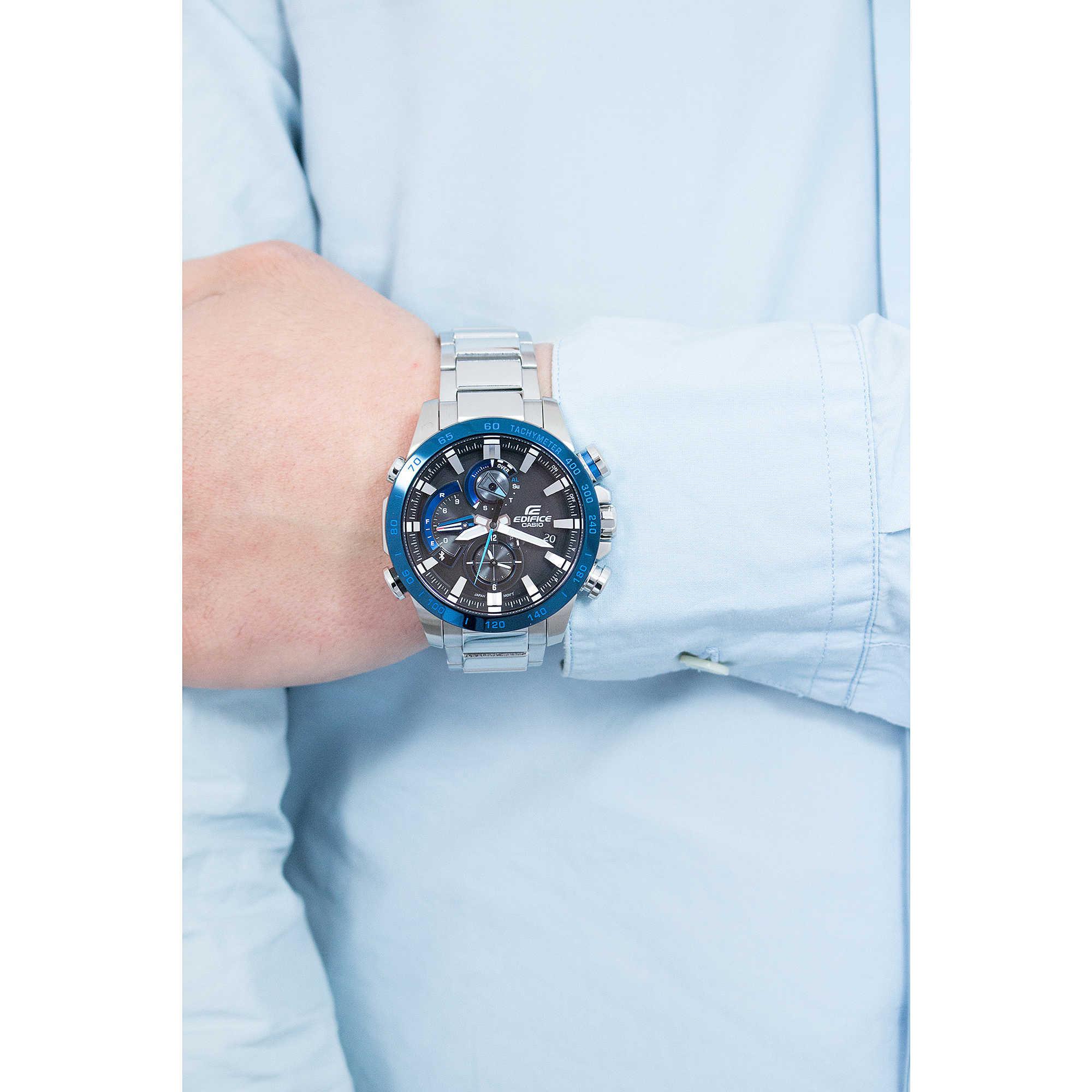 Casio Edifice Eqb 501xdb 1a Mineral Glass Silver Watch Intl Daftar Efr 501d 7av Jam Tangan Pria Zoom