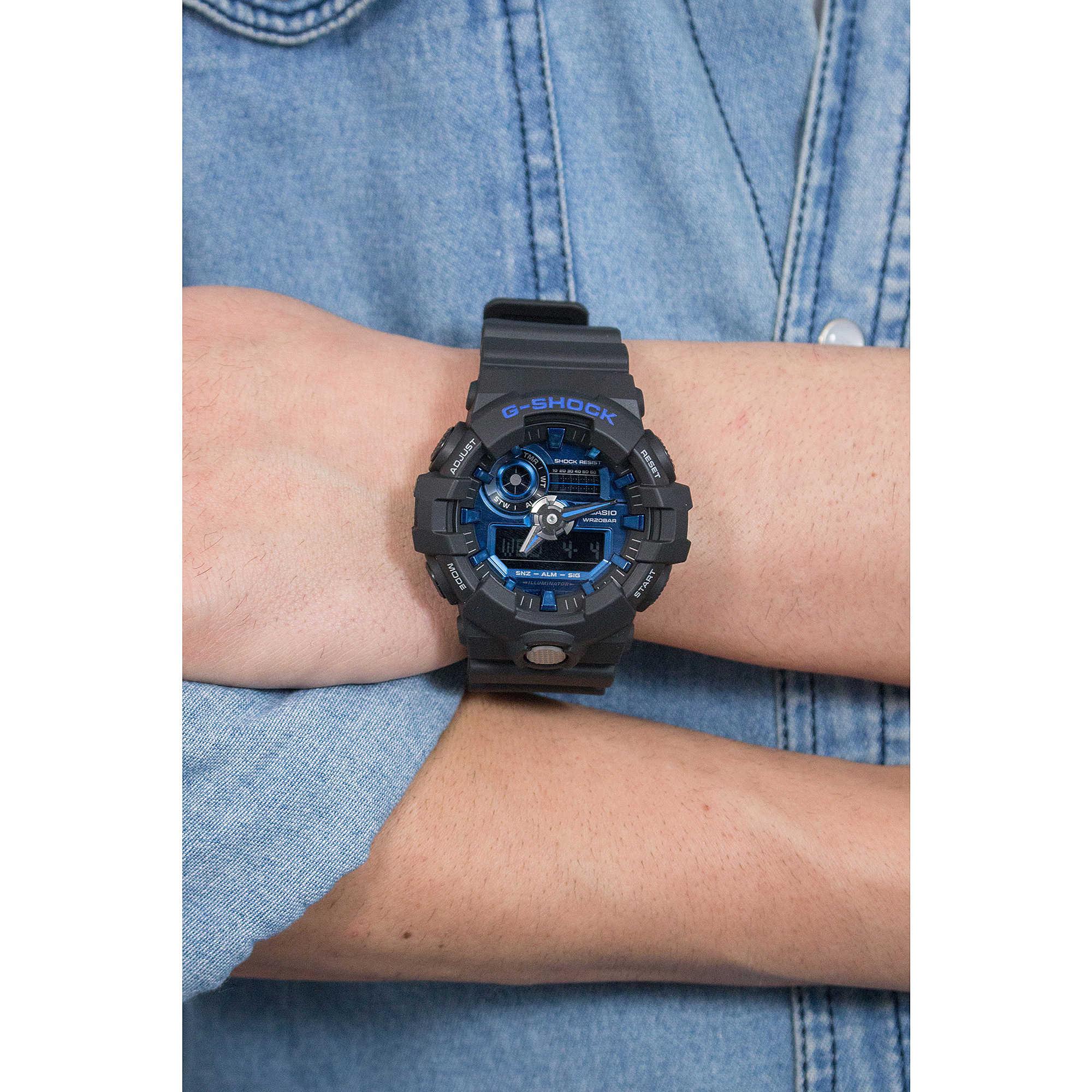 pretty nice c0133 68fe3 watch multifunction man Casio G Shock Premium GA-710-1A2ER ...