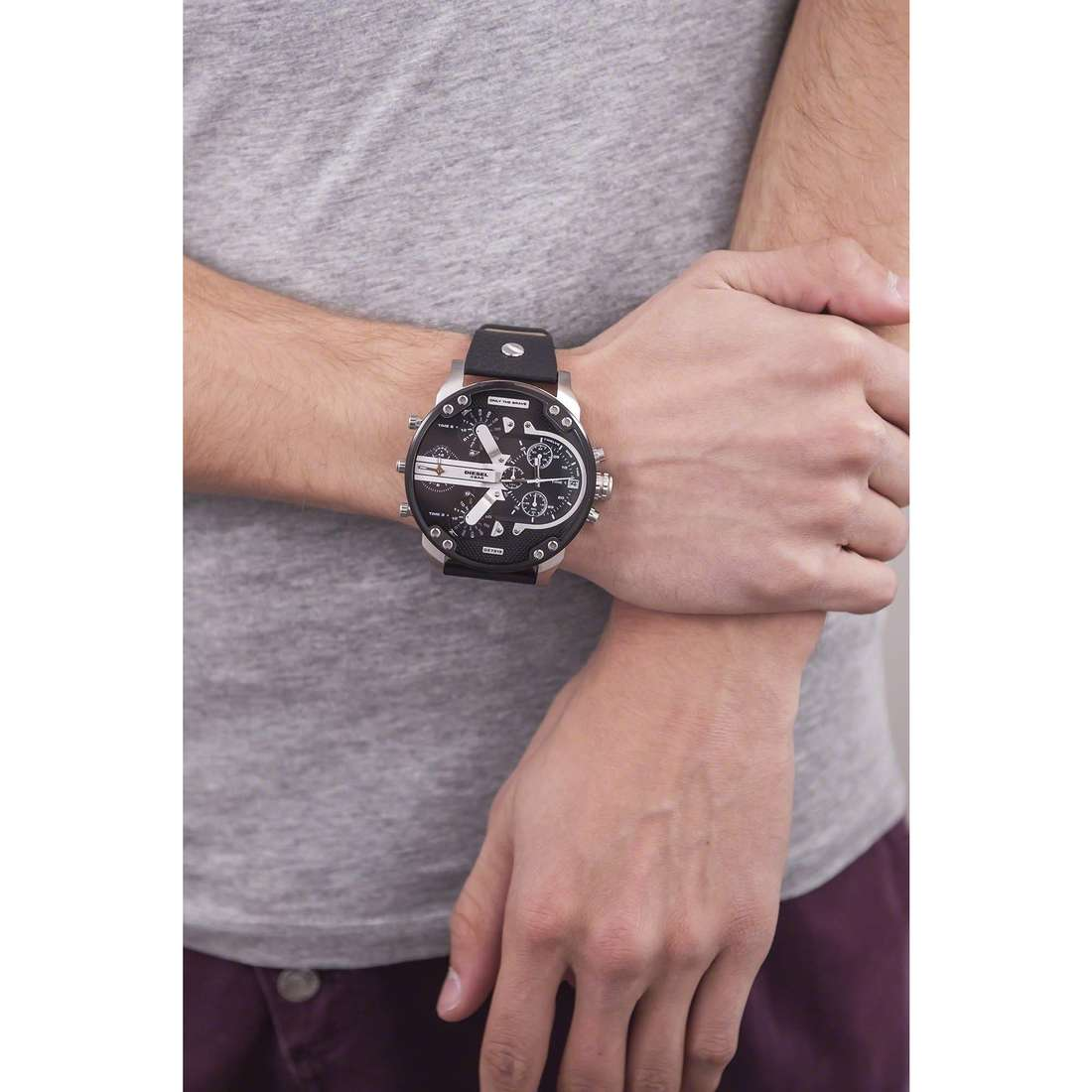 Diesel multifunction Mr. Daddy 2.0 man DZ7313 photo wearing