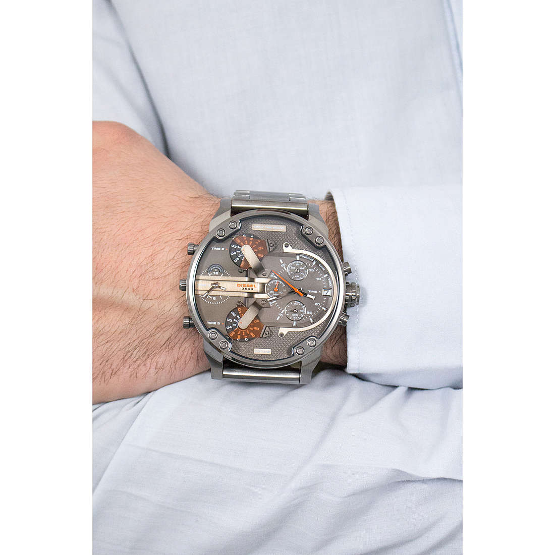 2b1a2f9261308 watch multifunction man Diesel Mr. Daddy 2.0 DZ7315 multifunction Diesel