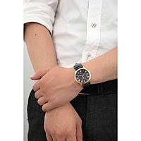 watch multifunction man Guess Rose Gold W0496G4