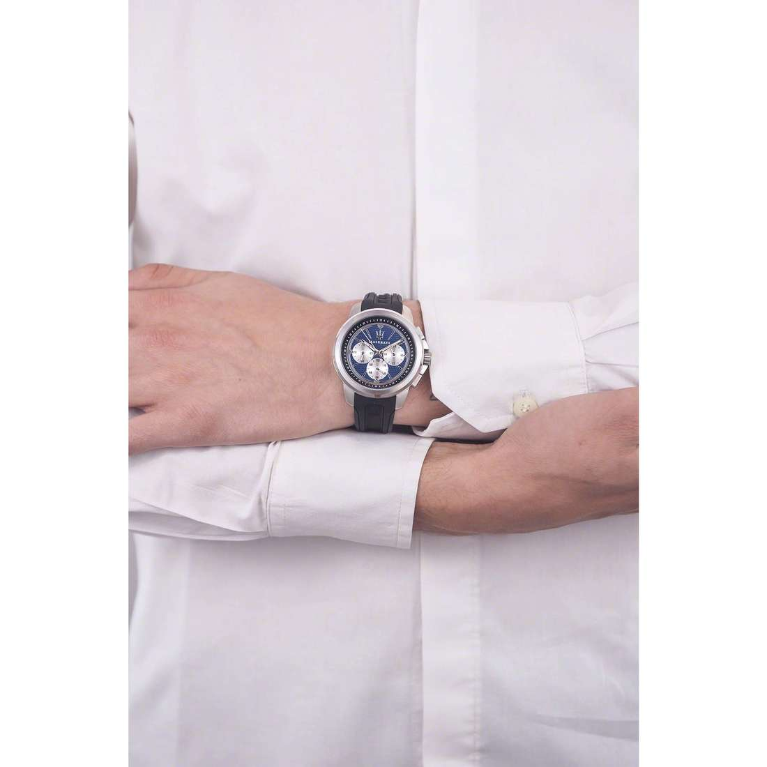Maserati multifunction Sfida man R8851123002 photo wearing