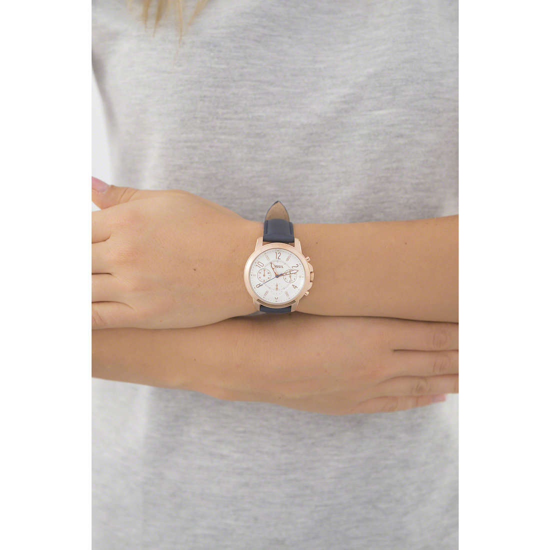 Fossil multifunction woman ES4040 indosso