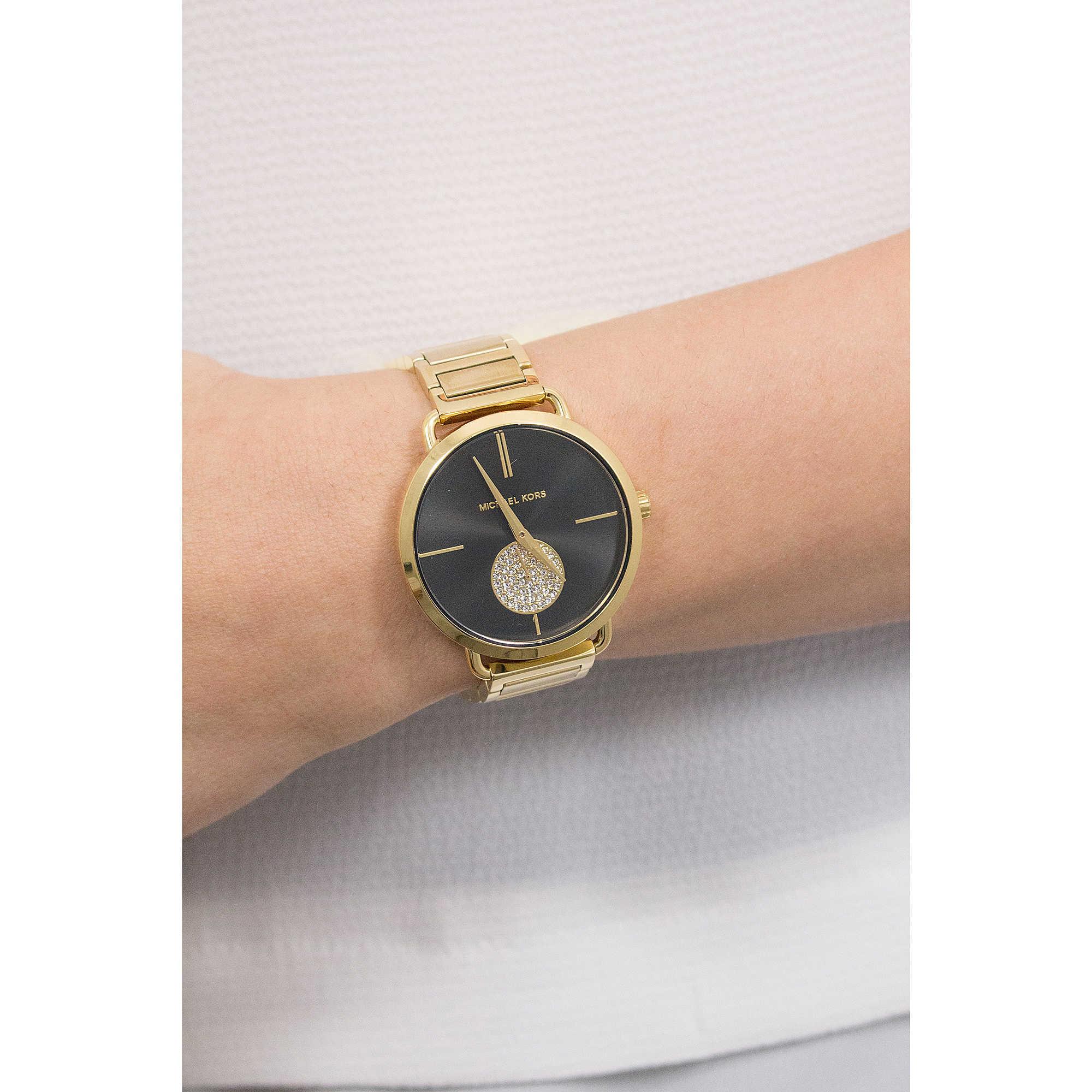 ae994c7452da watch multifunction woman Michael Kors Portia MK3788 multifunction ...