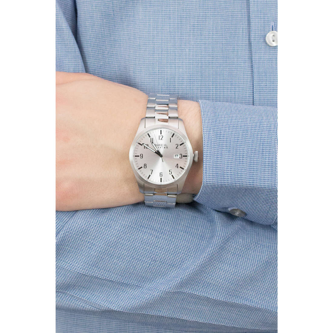 Breil only time Classic Elegance Extension man EW0231 indosso