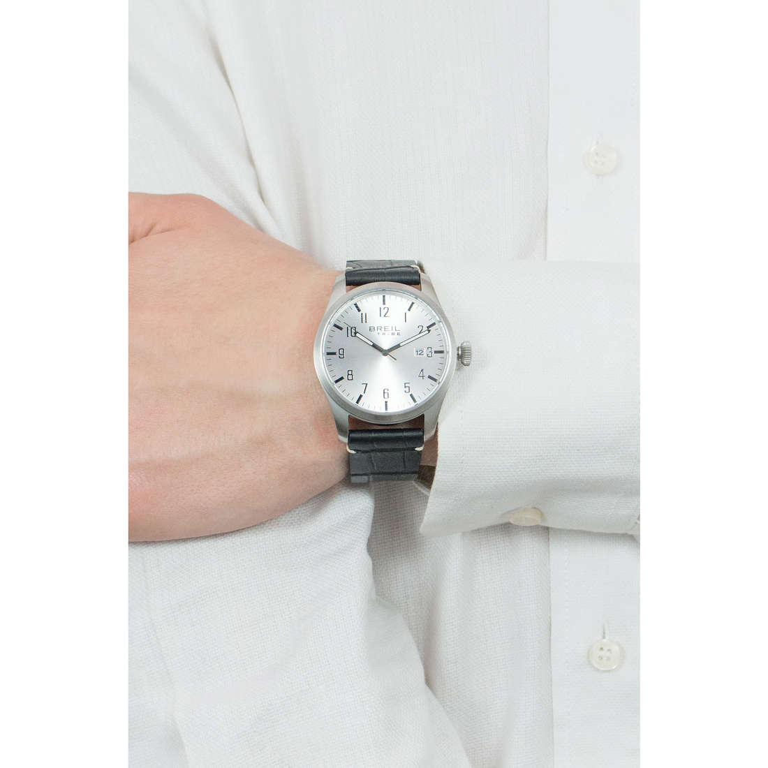 Breil only time Classic Elegance Extension man EW0233 indosso