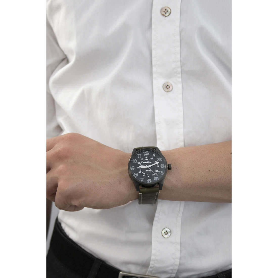Breil only time Flight Control man TW1385 indosso