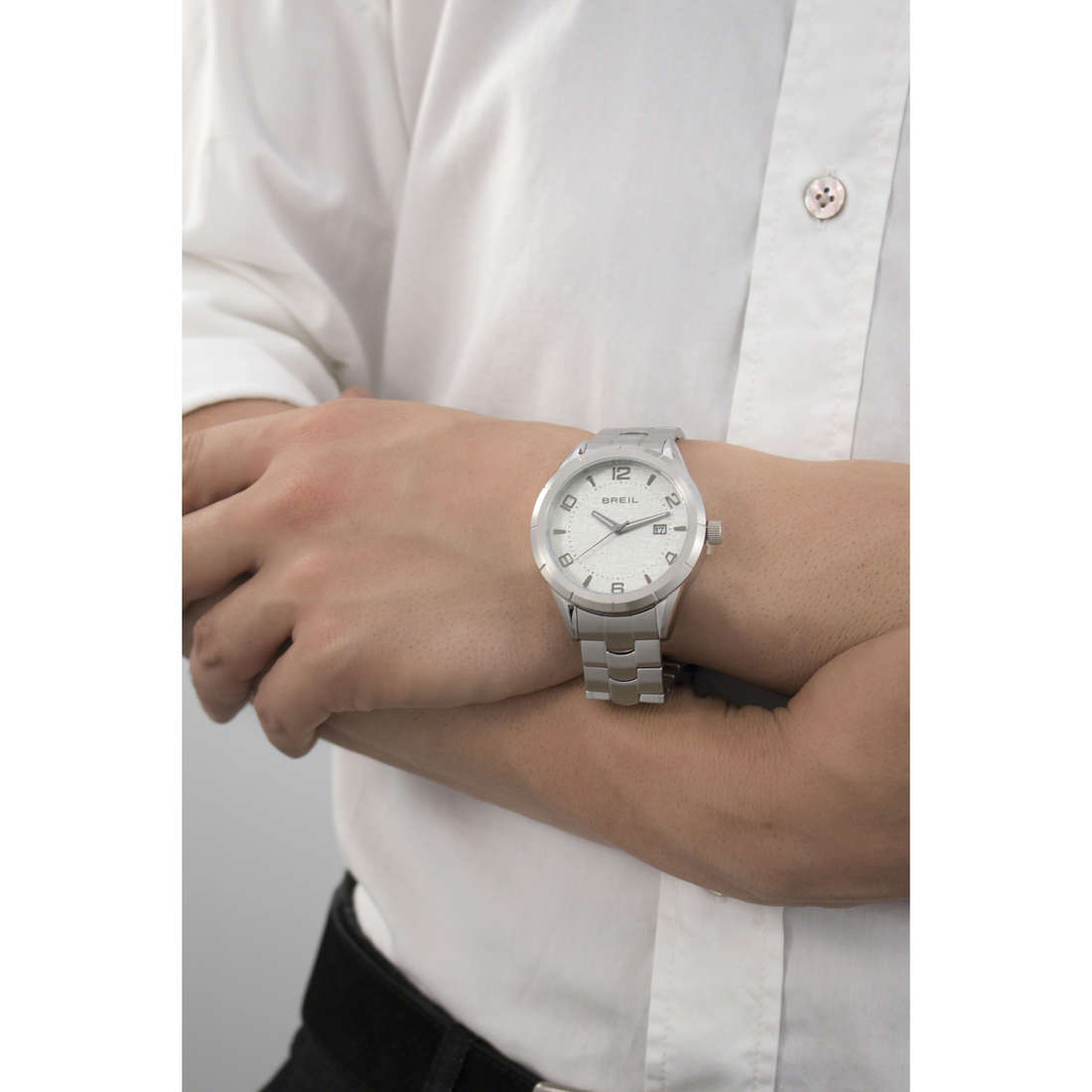 Breil only time Lounge In man TW1467 indosso