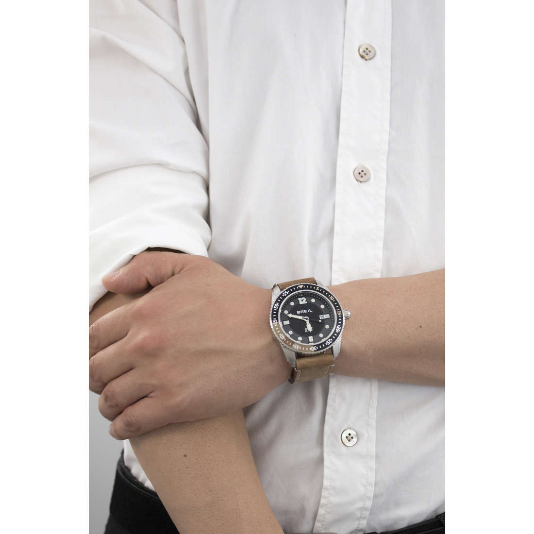 Breil only time Oceano man TW1422 indosso