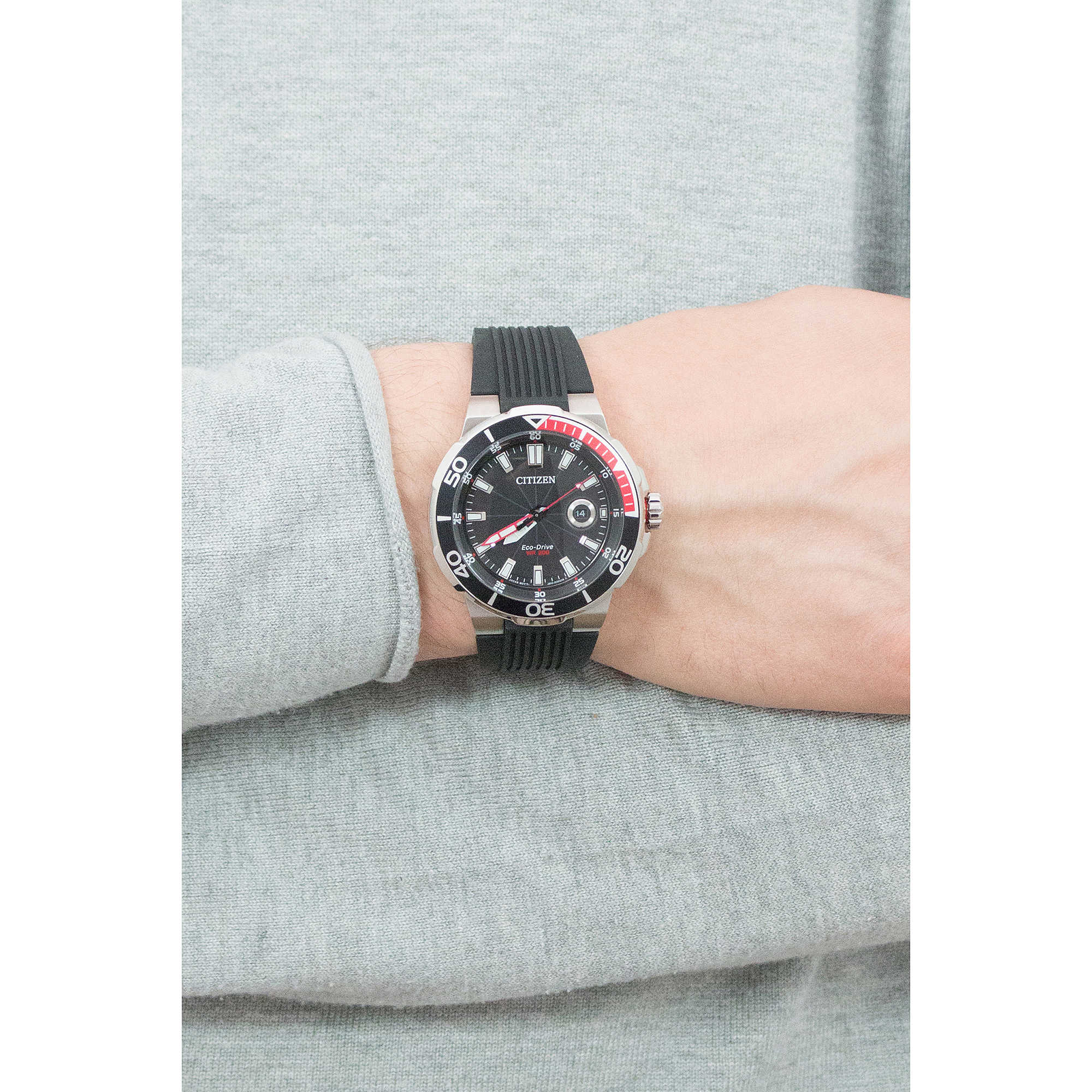 14b1ea1cc watch only time man Citizen Marine Sport AW1420-04E only time Citizen