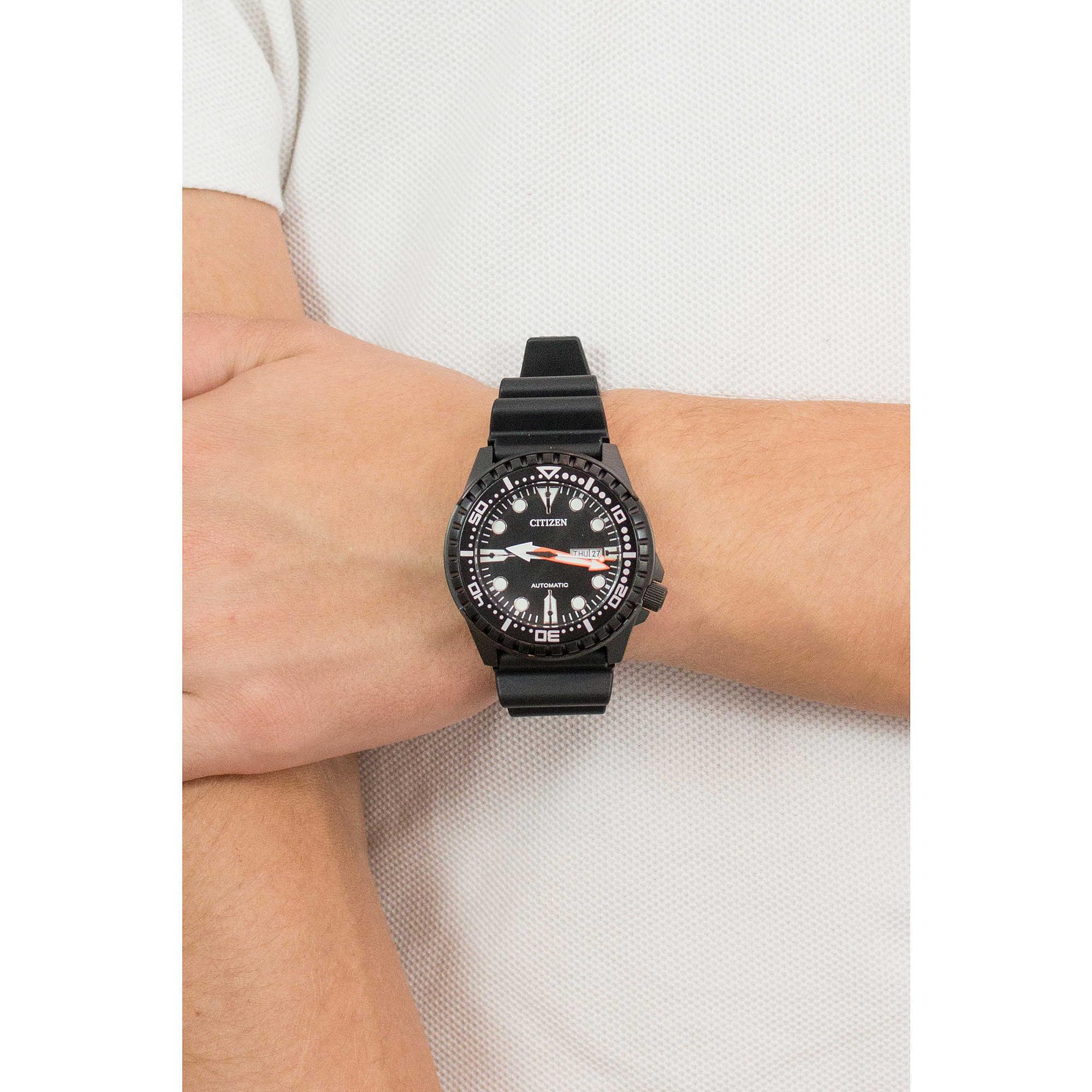 b70da784c3a watch only time man Citizen Marine Sport NH8385-11E only time Citizen