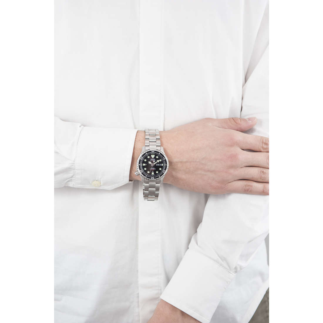 Citizen only time Promaster man NY0040-50E indosso