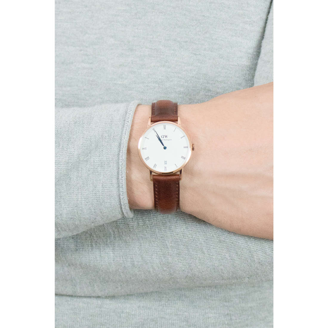 Daniel Wellington only time Dapper St Mawes man DW00100091 photo wearing