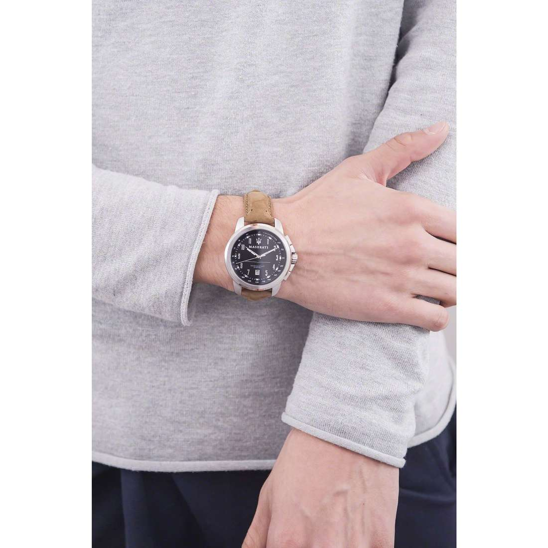 Maserati only time Successo man R8851121004 photo wearing