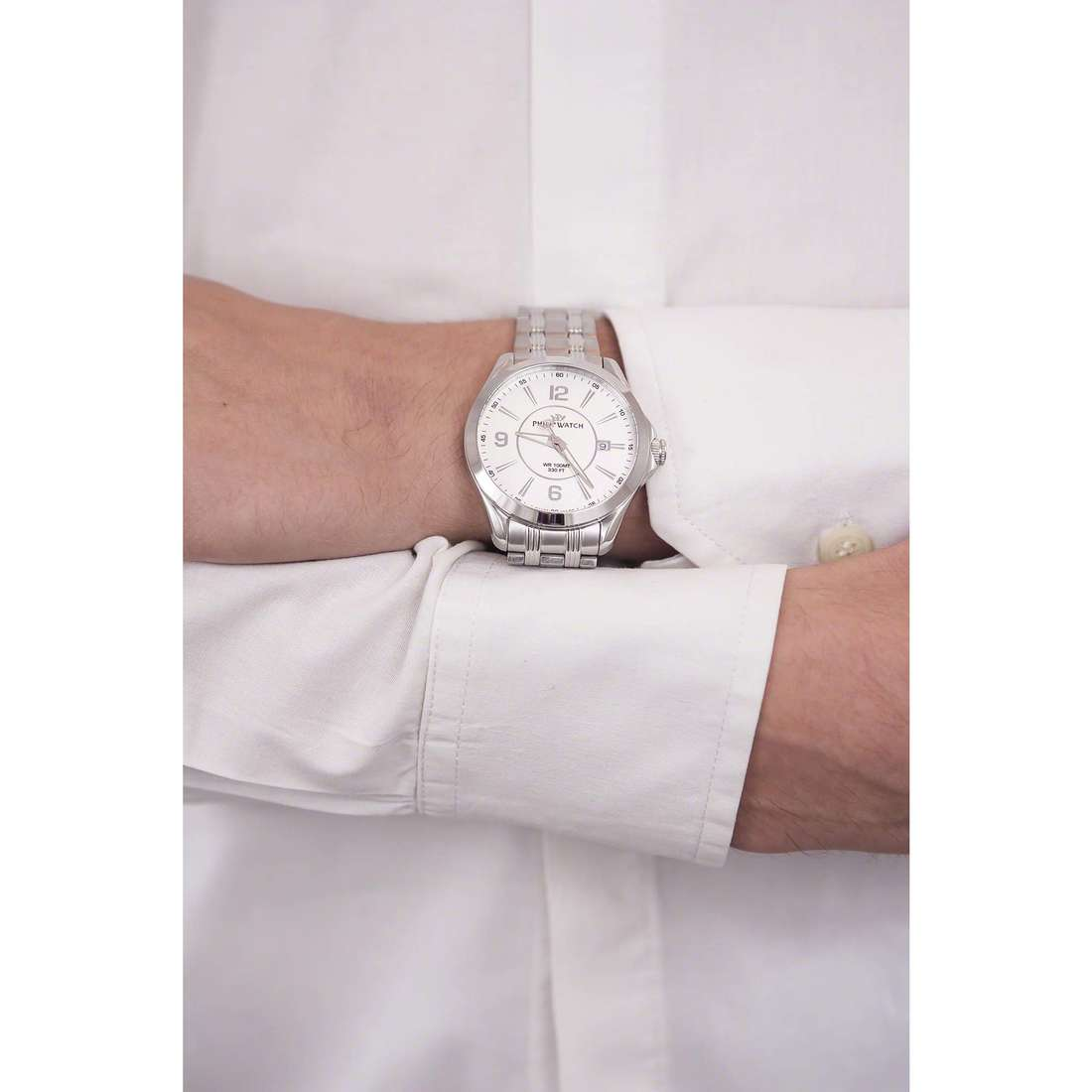 Philip Watch only time Blaze man R8253165002 indosso