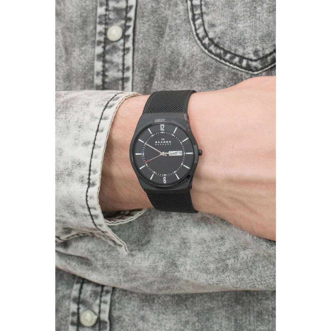 Skagen only time Melbye man SKW6006 photo wearing