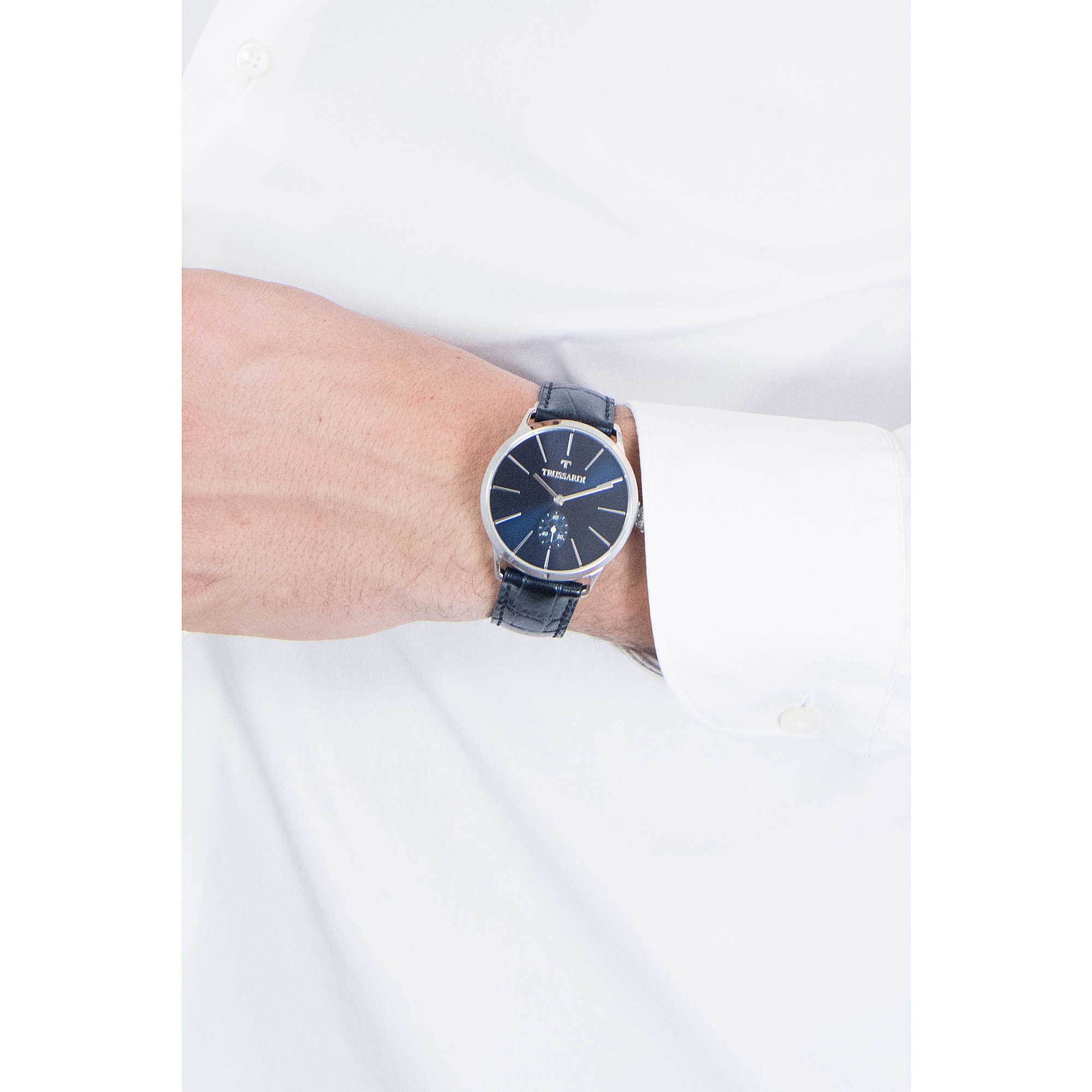 zoom. package only time Trussardi R2451116003. zoom. watch only time man  Trussardi Vintage R2451116003. zoom 7d5b6ca38e4